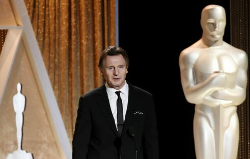 Actor Liam Neeson campaigns for REPEAL of right to life amendment