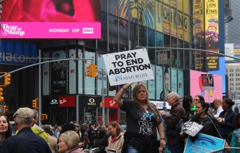 At NYC's largest ever pro-life rally, women, abortion survivors take a stand